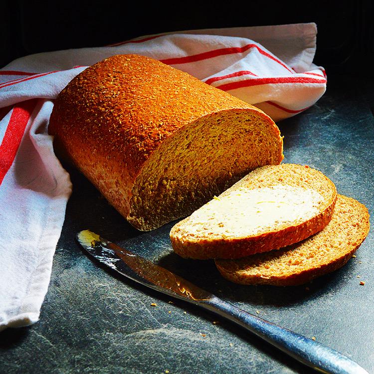 Wholemeal bread recipe / Рецепта за пълнозърнест хляб